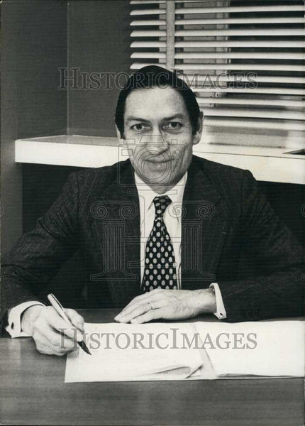 1979 Press Photo Mr Jacques Lombard, President of Citroen autos - Historic Images