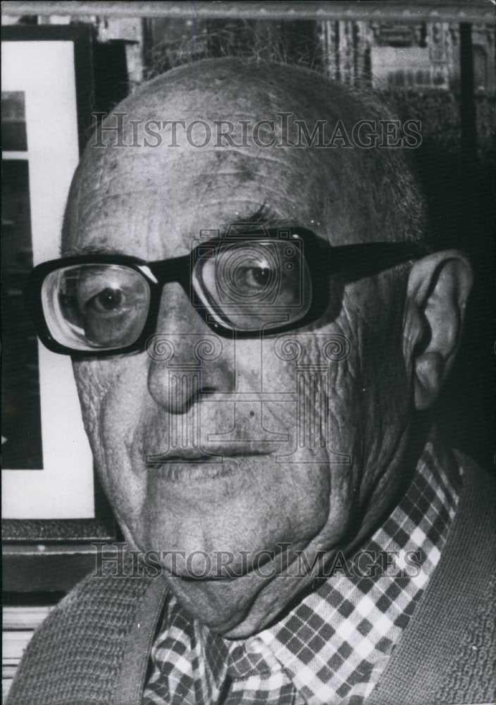 1972 Press Photo Mr Pietro Nenni,Italian communist politician - Historic Images