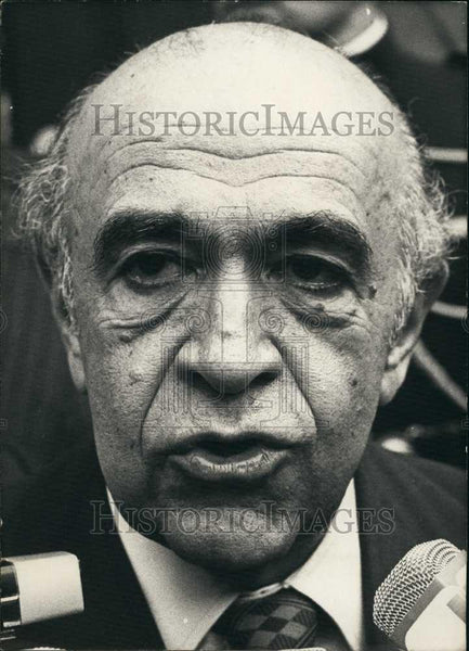 1978 Press Photo Former Iranian Prime Minister, Mr Noveyda - Historic Images