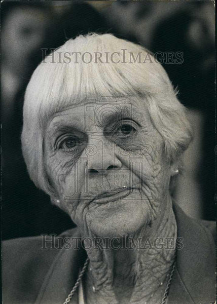 Press Photo Mrs Lilian Carter,mother of US President Jimmy Carter - Historic Images