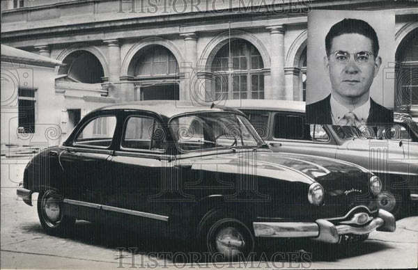 1958 Press Photo Vehicle Commissioner Mohamed Chemine Found Strangled to Death - Historic Images