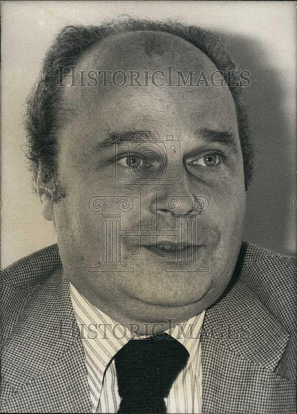 Press Photo Mr Roger Chinaud,French politician of the UDF - Historic Images