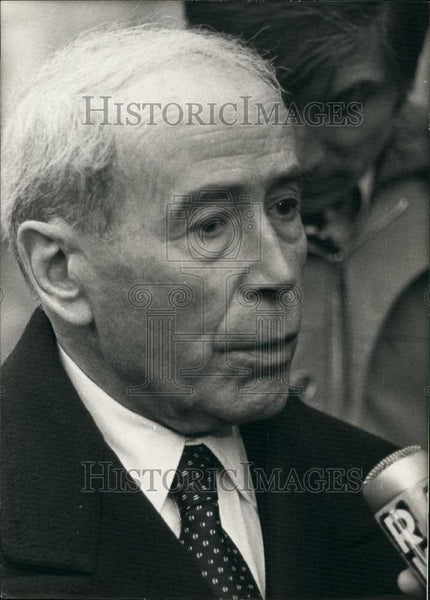 1979 Press Photo Mr Antoine Pinay,former president of French consul - Historic Images