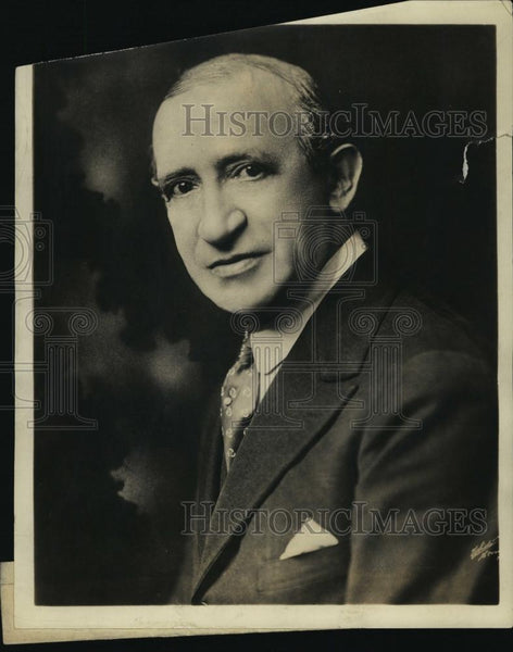1931 Press Photo Lew Fields entertainer Weber and Fields - RSL49555 - Historic Images