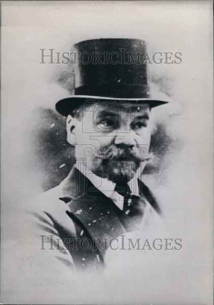 Press Photo Mr Michel Borodine, of the government of Hong Kong - Historic Images