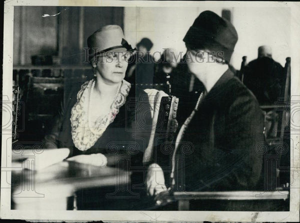 1928 Press Photo Mrs Clarence Knapp - RSL53029 - Historic Images