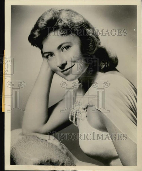 Press Photo Marion Rose Actress Mrs G Goes to College - RSL59311 - Historic Images