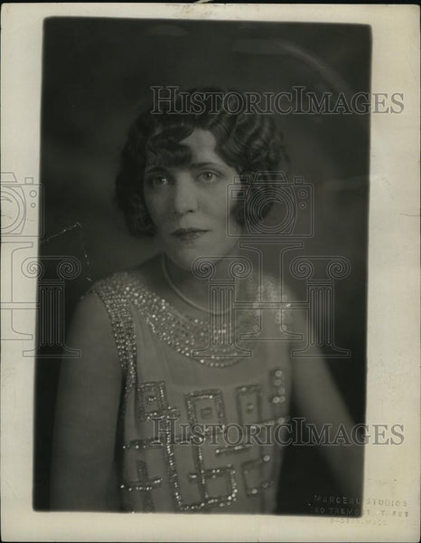 1926 Press Photo Catherine O'Hearn, bride of John F Fitzgerald Jr - RSL84027 - Historic Images