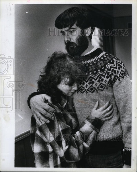 Press Photo Ralph & Donna Richard Accused Of Rape & Murder Of Daughter - Historic Images