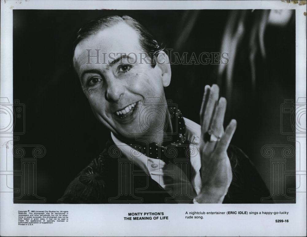 1983 Press Photo English comedian/actor Eric Idle in