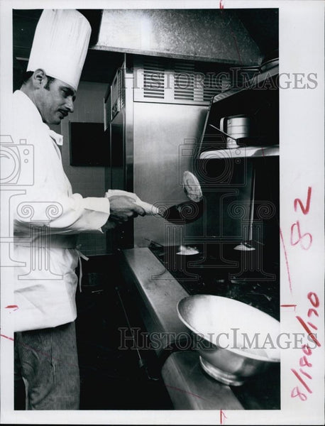 Press Photo French Chef Rene Castets - RSL62841 - Historic Images