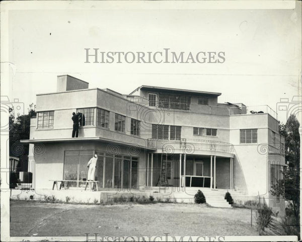1938 Press Photo Home of Mrs Nathan Clark in Mass - RSL05479 - Historic Images