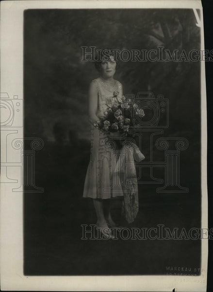 1926 Press Photo Catherine O'Hearn, bride of John Fitzgerald Jr - RSL84021 - Historic Images
