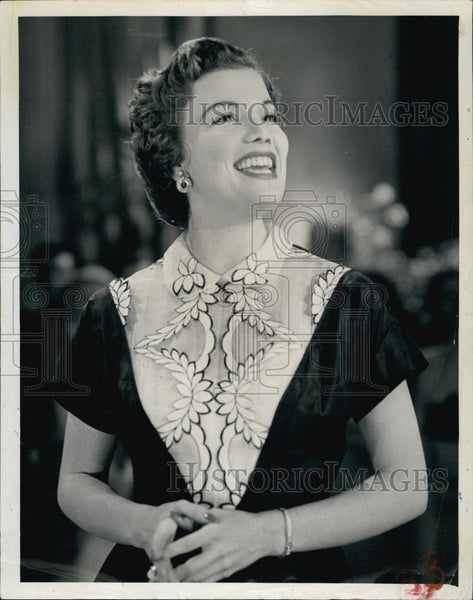 Press Photo Actress Nanette Fabray - RSL60407 - Historic Images