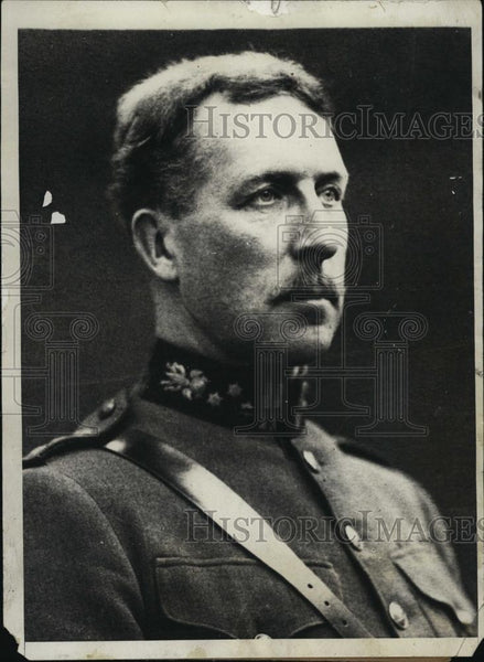 1929 Press Photo Belgian King Albert Portrait Illness Announcement - RSL41449 - Historic Images