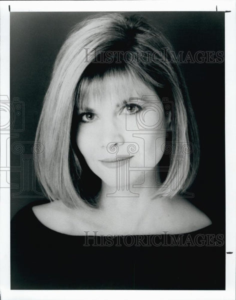 Press Photo Markie Post American actress, best known for her roles as bail bonds - Historic Images