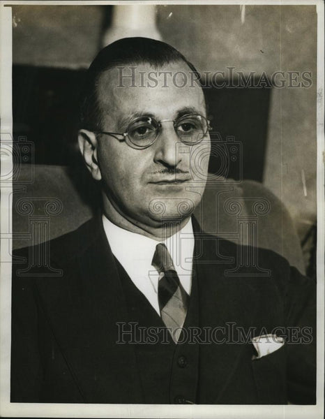 1937 Press Photo Alfred Santosuosso, Mayoral candidate in Boston - RSL77967 - Historic Images