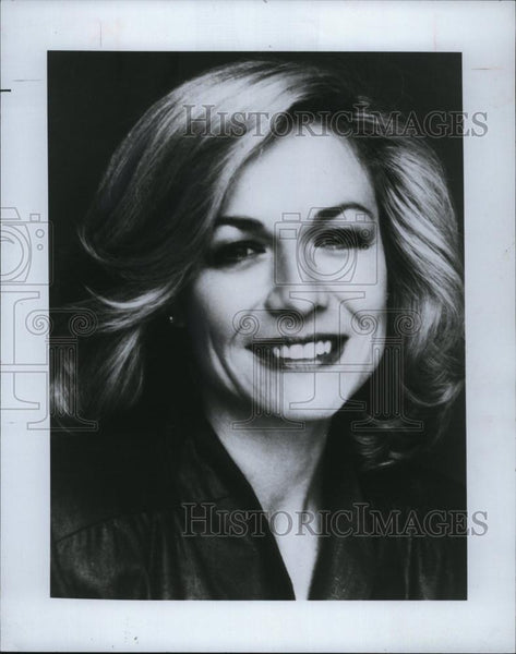 Press Photo Television Series news host Jessica Savitch - RSL82425 - Historic Images