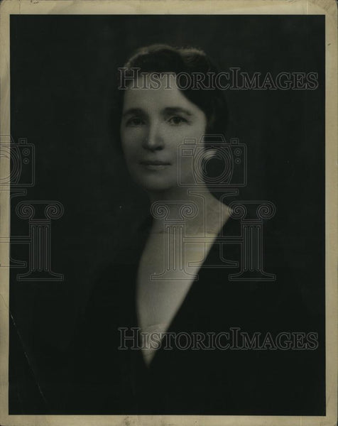 1931 Press Photo Margaret Sanger, founder of the birth control movement - Historic Images