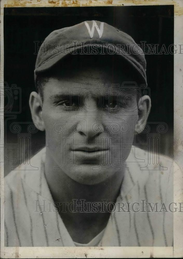 1932 Press Photo Ben Chapman, left fielder for New York Yankees - Historic Images