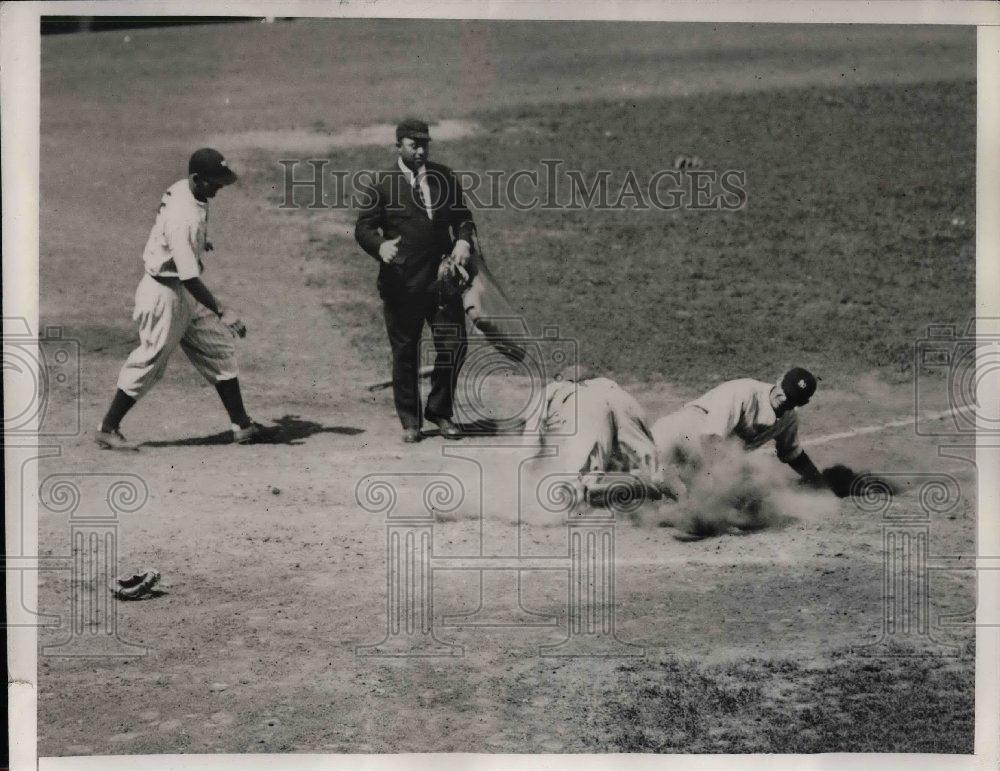 1935 Press Photo Selkirk of the Yanks 4th inning - nea06724 - Historic Images