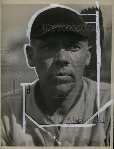 "1930 Press Photo Marton ""Woodchopper"" Nelson, pitcher for the Tigers - nea06378 - Historic Images"