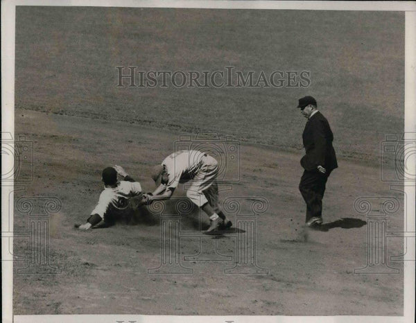 1935 Press Photo Selkirk of New York Yankees - nea06722 - Historic Images