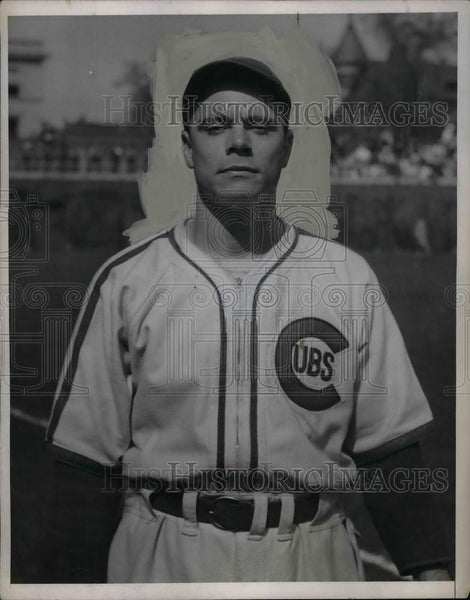1938 Press Photo Kirby Higbe, pitcher - Historic Images