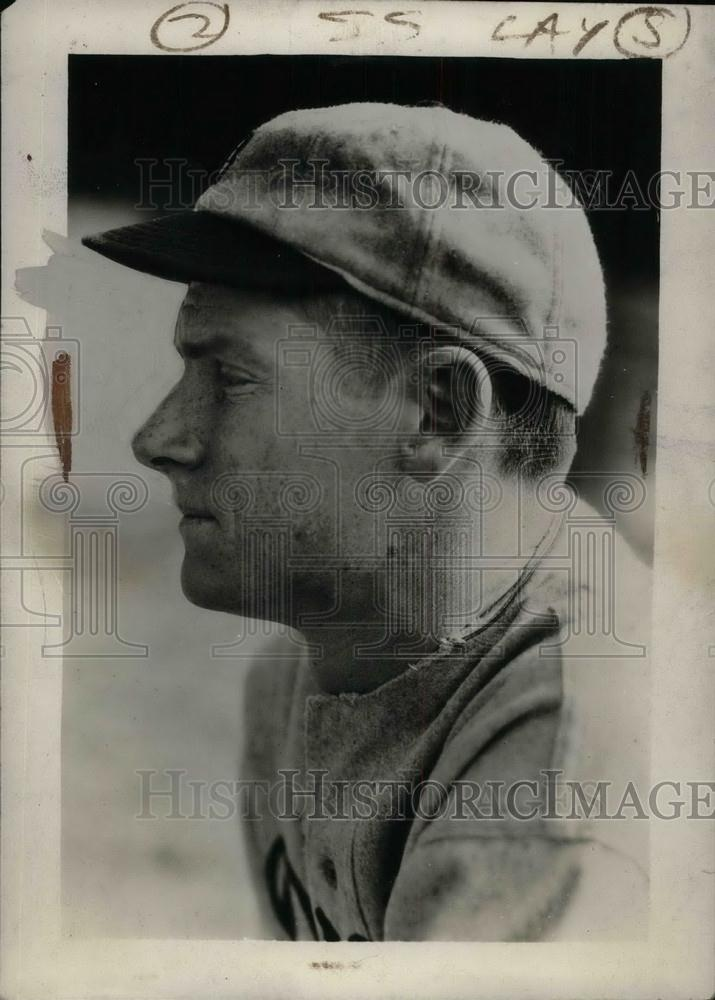 1931 Press Photo Marvin Owen, infielder for Detroit Tigers - nea02330 - Historic Images