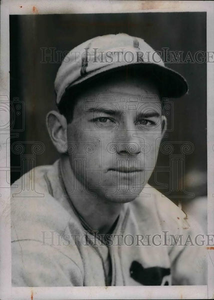 1937 Press Photo St. Louis Cardinals' Arnold Owen at spring camp in Daytona - Historic Images