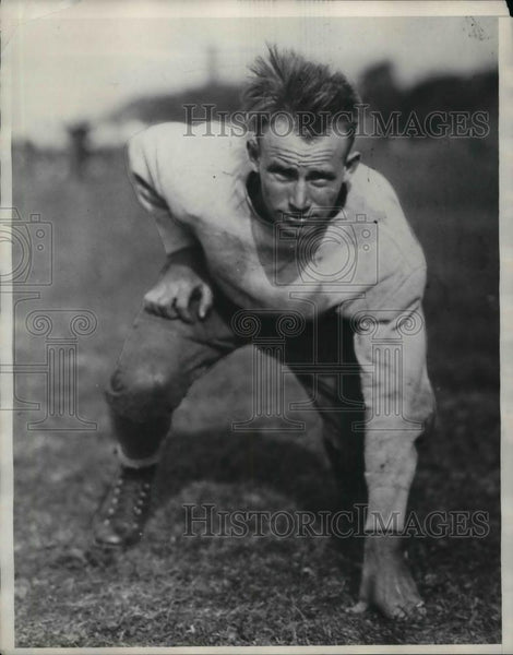 1929 Press Photo College football player, Hugh Kenneth - nea12071 - Historic Images