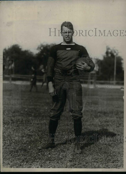 1923 Press Photo Percy jenkins Harvard half back Football player - nea11998 - Historic Images