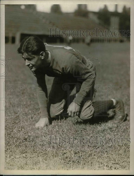 1927 Press Photo G.Shanahan, Backfield of the Holy Cross College Football Team. - Historic Images