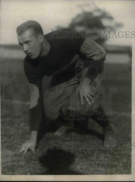 1923 Press Photo WL Richesan Yale Quarterback - nea14001 - Historic Images