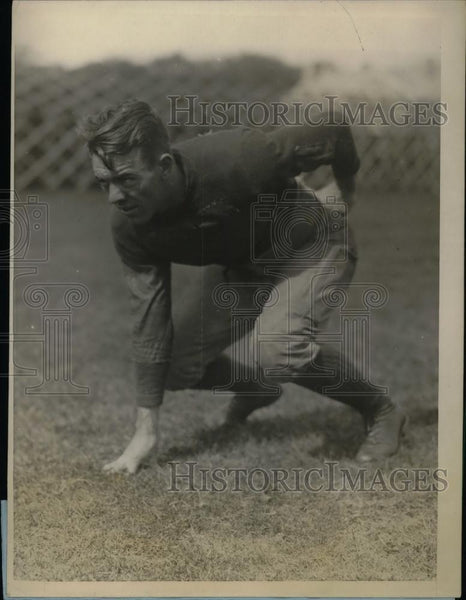 1927 Press Photo C.A. Shea, Quarterback of the Dartmouth Univ. Football Team - Historic Images