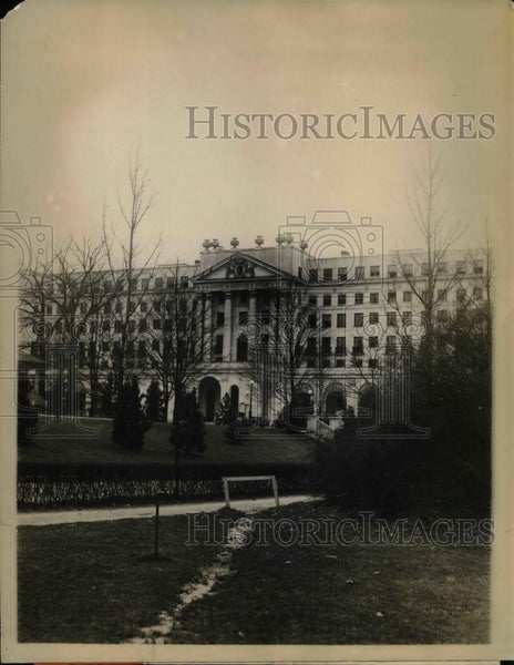 1927 Press Photo Greenbriar Hotel at White Sulpher Springs - Historic Images