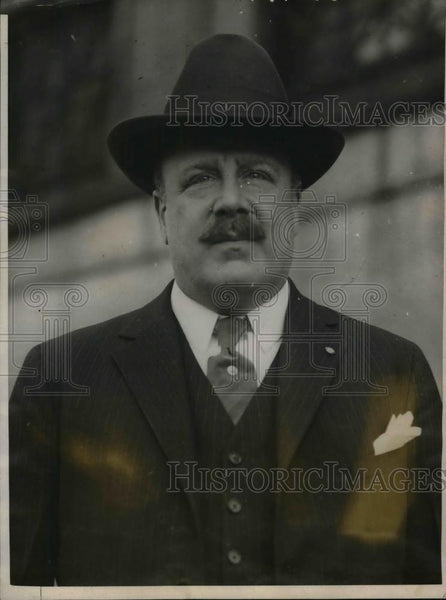 1909 Press Photo Frank Hall owner of Boston hotel where Pres Coolidge lived - Historic Images