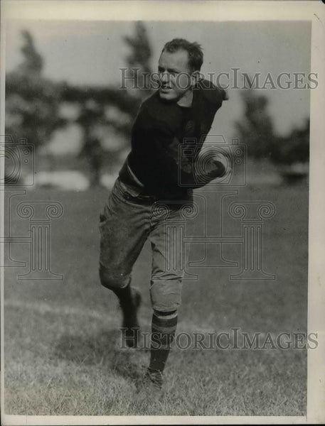 1928 Press Photo West Point academy football, Shuber in the backfield - Historic Images