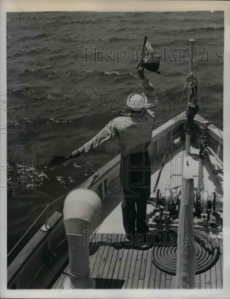 1941 Press Photo Seaman 1st class Radi Oman E.W. Kiehl - nea29430 - Historic Images