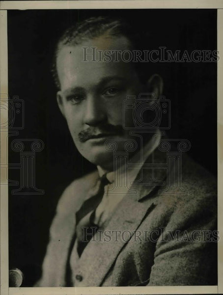 1926 Press Photo Earl Shannon Aide de camp Governor of Madras - nea28946 - Historic Images