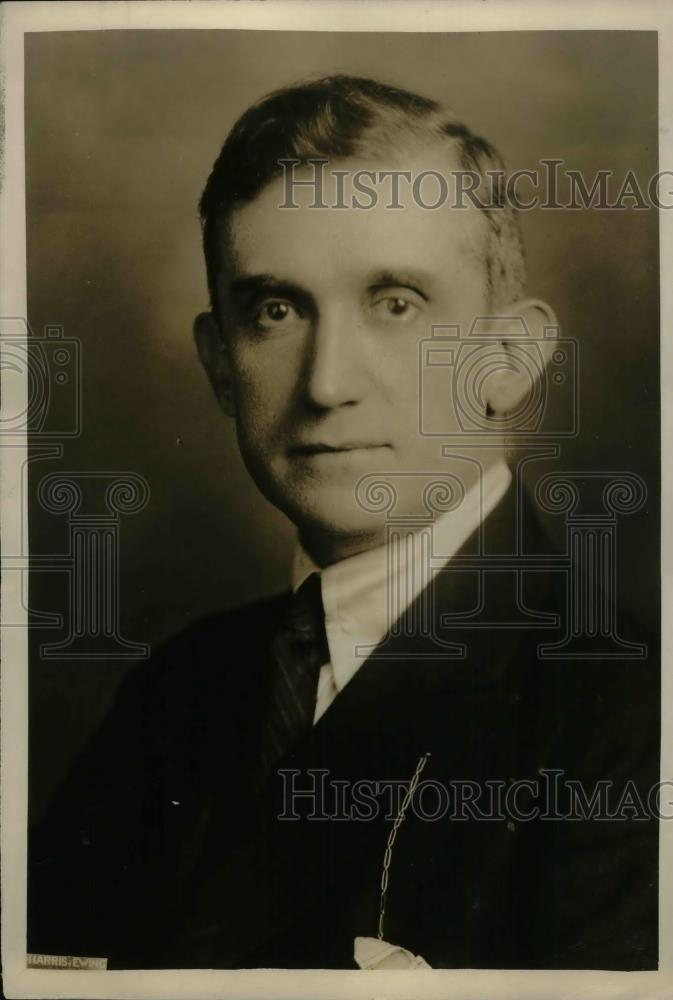 1924 Press Photo Thomas R. Shipp Washington Publicity man - nea29924 - Historic Images
