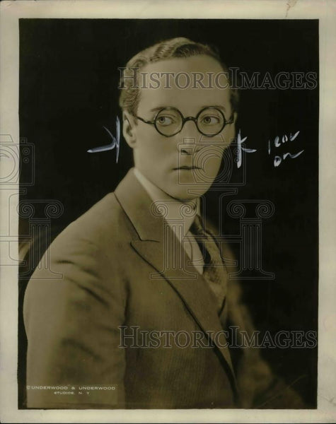 1923 Press Photo Arthur Cotton Inventor - nea32190 - Historic Images