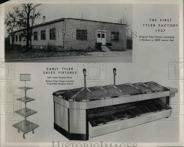 1927 Press Photo Tyler Factory in 1927 & Fixtures - nea37201 - Historic Images