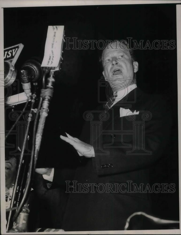 1940 Press Photo Chairman John D. M. Hamilton, Rep. National Committee - Historic Images