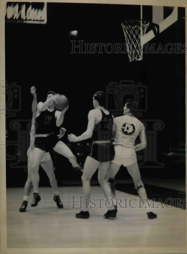 1936 Press Photo Frank Janosik, Wilmerding Guard - nea39787 - Historic Images