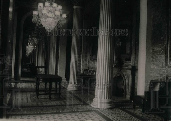 1921 Press Photo Marble Room Of Senate Chamber To Be Lounging Room For Senators - Historic Images