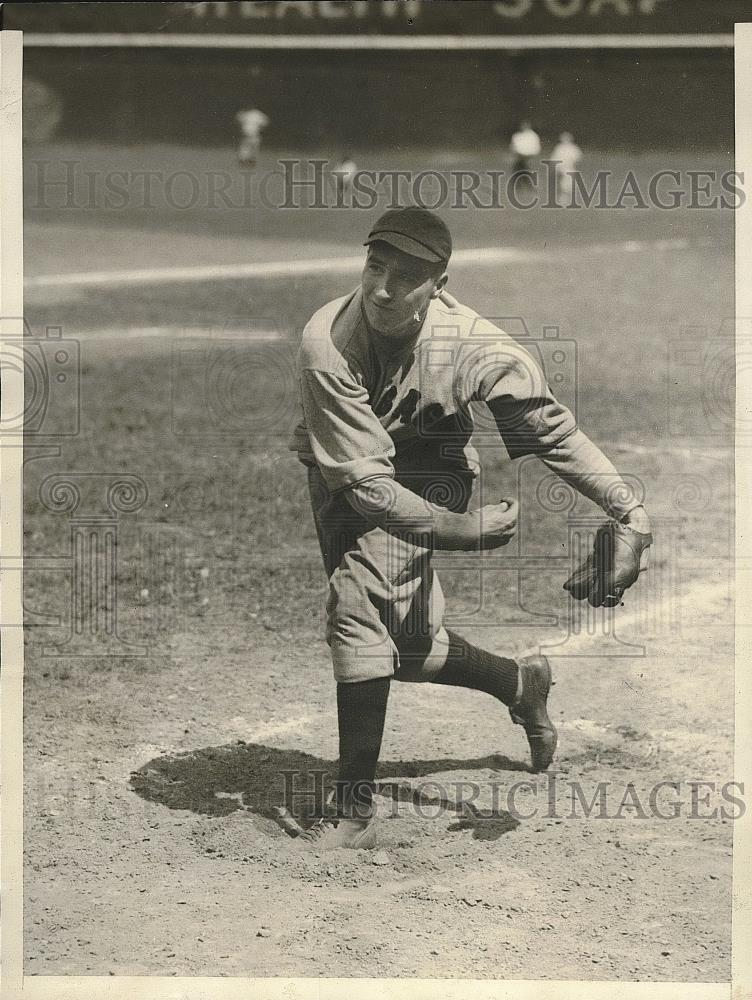 1929 Press Photo Granys, pitcher for Chicago Cubs - Historic Images