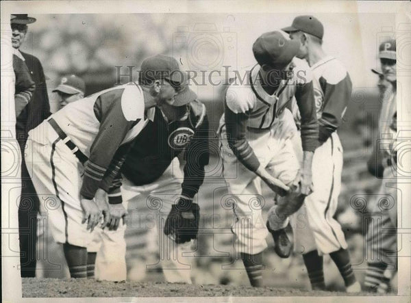 1941 Press Photo Charlie Grimm Chicago Cubs Coach - Historic Images