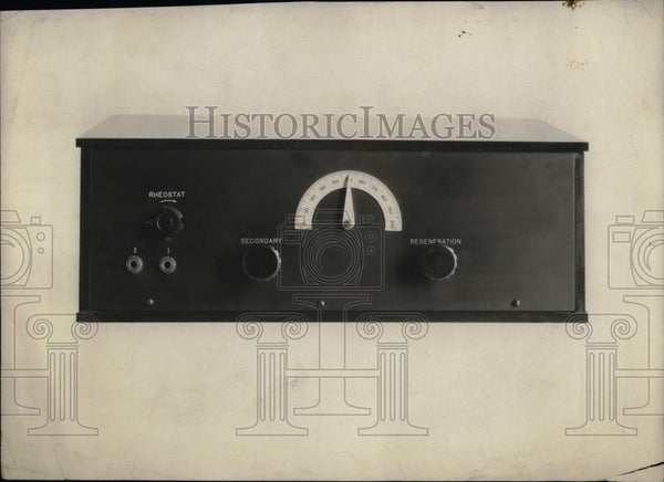 1925 Press Photo Special Short Wave Radio For Use During Cruises - nea59723 - Historic Images