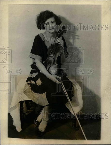 1922 Press Photo Jean Middleton divorced by husband Nathan F. Block - Historic Images